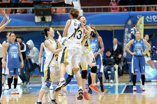 Корея баскетбол wkbl южная